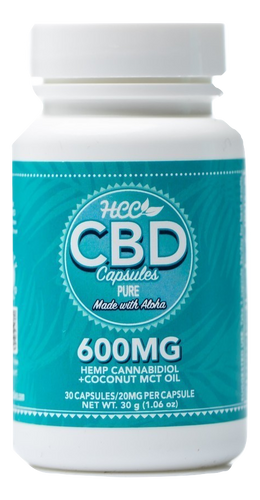 HCC: Pure CBD Capsules (600mg)