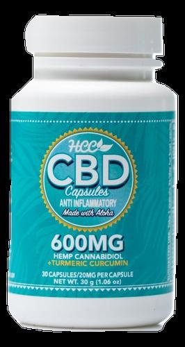 HCC: Anti-Inflammatory CBD Capsules (600mg)