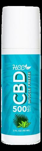HCC: CBD Muscle Freeze (500mg)