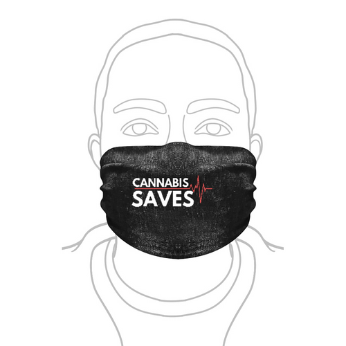 Facemask Wrap - Hemperpedic Saves Collection