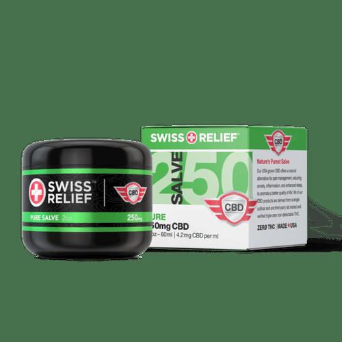 Swiss Relief CBD Salve - Pure
