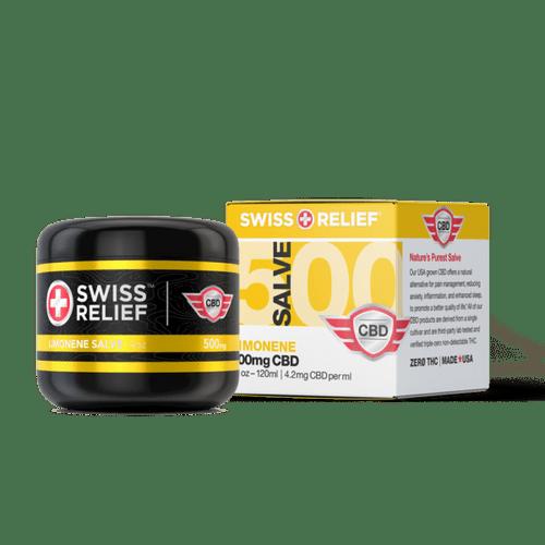 Swiss Relief CBD Salve - Limonene