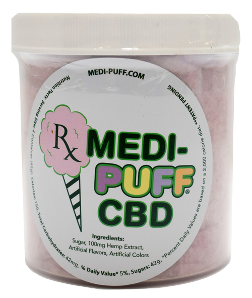 CBD Hemp Infused Cotton Candy - Natural Healthy CBD