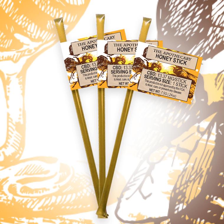 The Brothers Apothecary: CBD Honey Stick (14mg)
