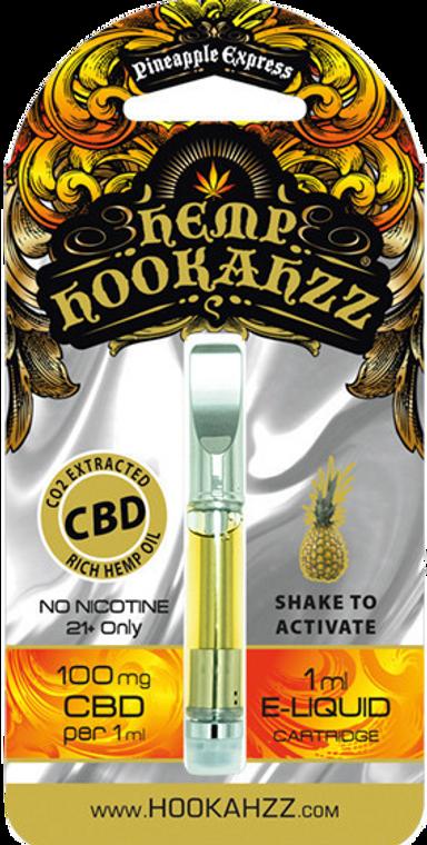 Hemp Hookahzz: Pineapple Express Pre-Filled CBD Vape Cartridge (100mg)