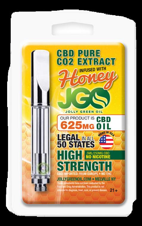 Jolly Green Oil: Honey Infused Pure CBD Cartridge (625mg)