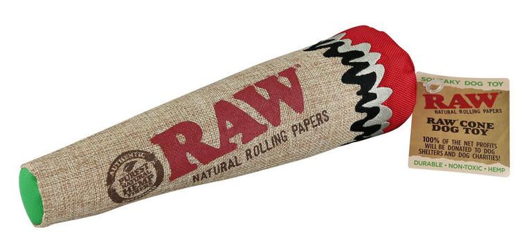 Raw Dog Cone Chew Toy