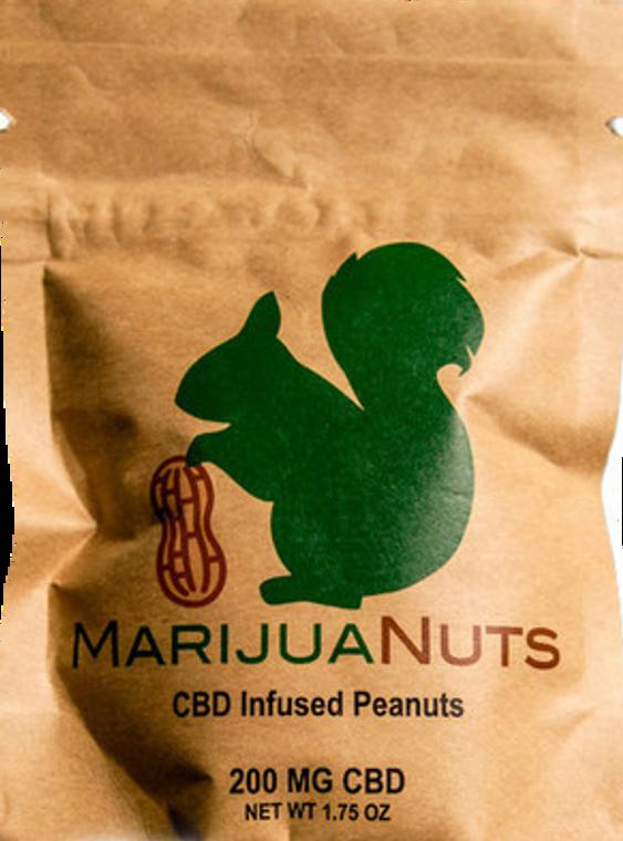 MarijuaNuts: CBD Infused Peanuts (200mg)