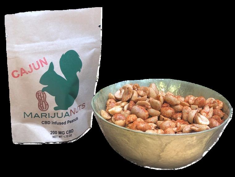MarijuaNuts: CBD Infused Cajun Peanuts (200mg)