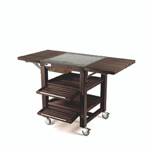 Walnut Hot & Cold Trolley