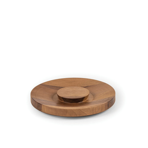 Walnut Jar Lid