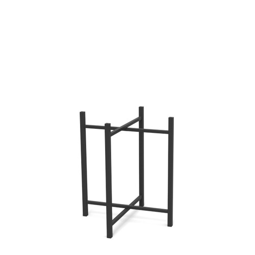 Medium Black Steel Table Leg