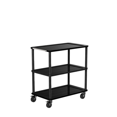 Black Modern Tray Trolley