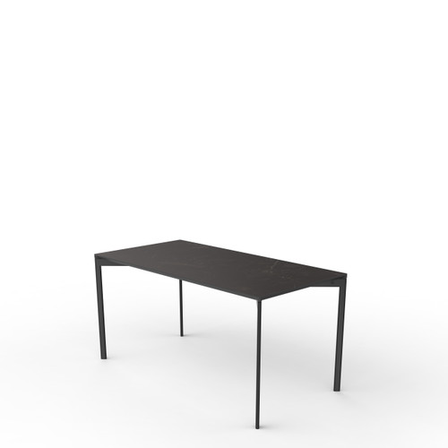 Black Marble Rectangle Table