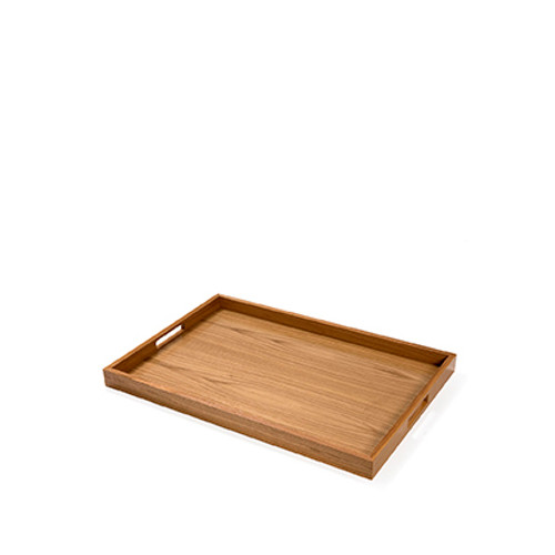 Oak Rectangular Modern Tray
