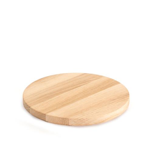 Round Oak Plinth