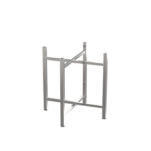 Short Stainless Steel Table Leg