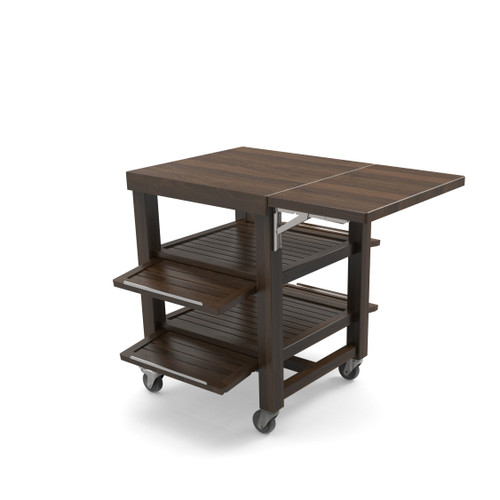 Walnut Single Trolley