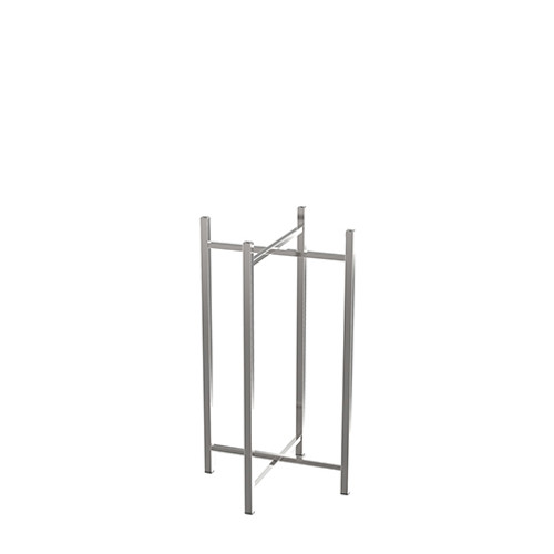 Tall Stainless Steel Table Leg
