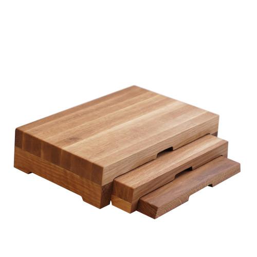 Oak 3-Step Riser