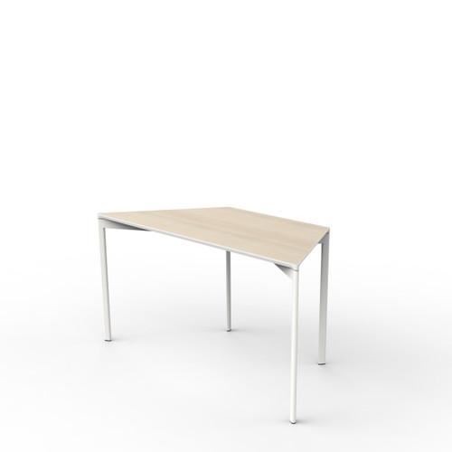 Acacia Trapezoid Table