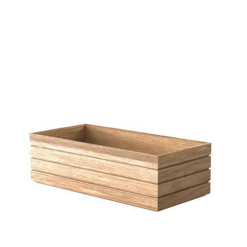 Oak Trough Tray