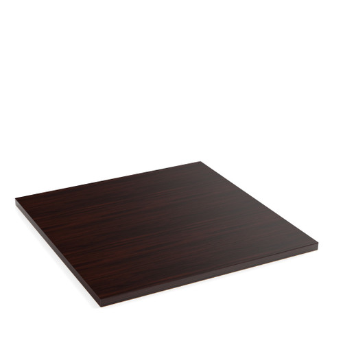Wenge Oak Veneer Square Table Top