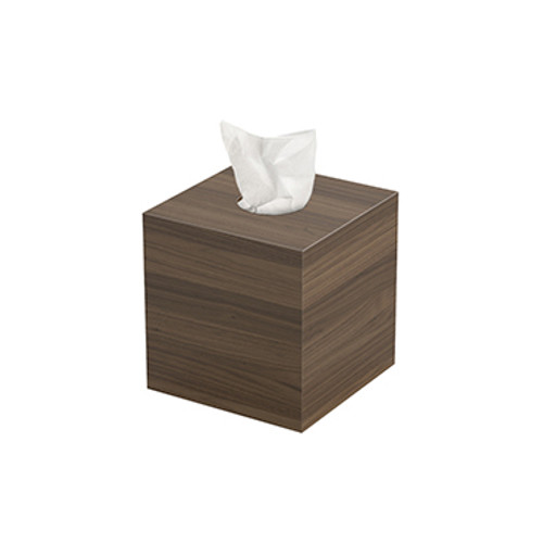 Walnut Tissue Box