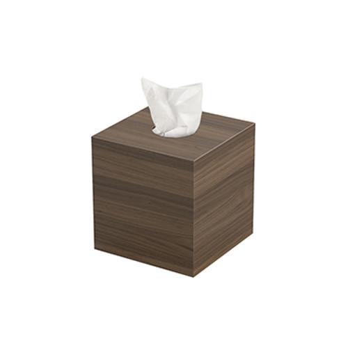 Walnut Tissue Box
