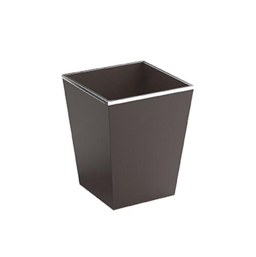 Faux Leather Square waste bin