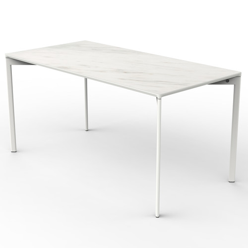 White Marble Rectangle Table