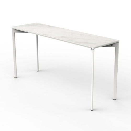 White Marble Classroom Table