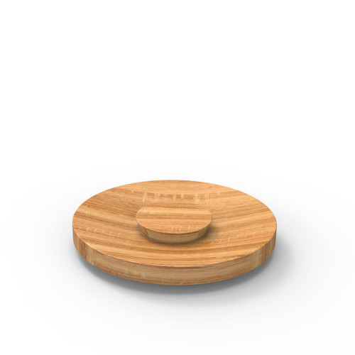 Oak Jar Lid