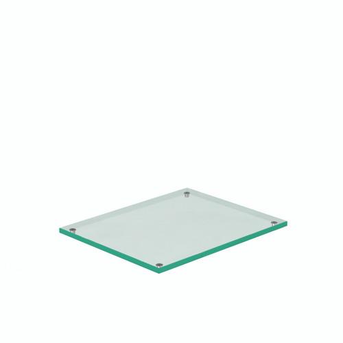 Clear Glass 1.2 Plinth