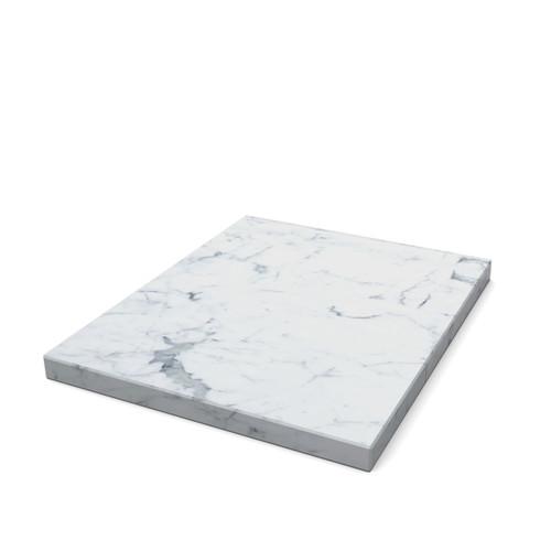 White Marble 1.2 Plinth