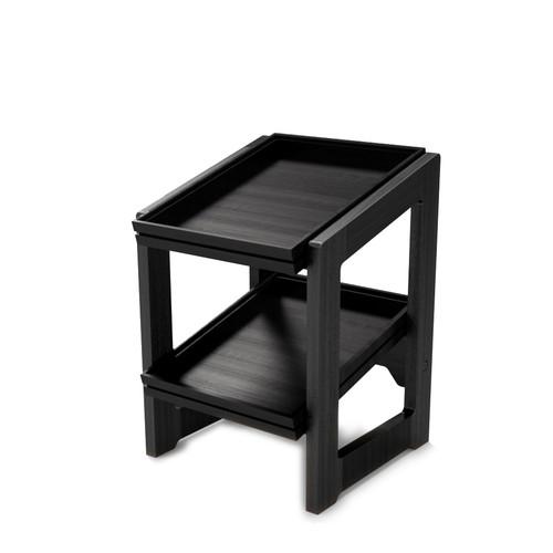 Black 1.2 2-Tier Stand