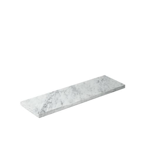 White Marble 2.4 Plinth