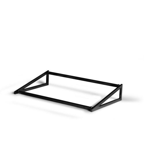Black Angled 1.1 Frame