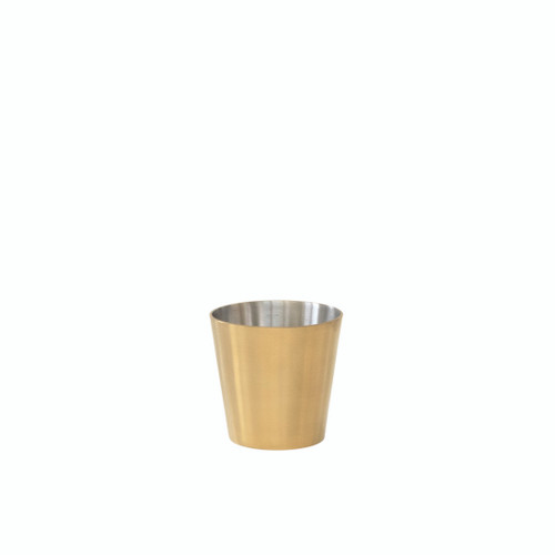 Brass chip pot