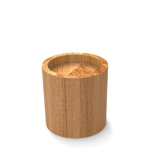 Oak Carafe Riser
