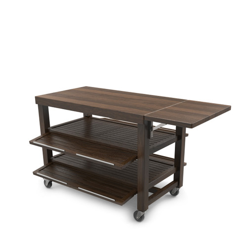 Walnut Double Trolley