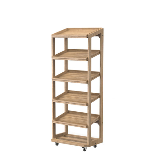 5-Tier Oak Stand