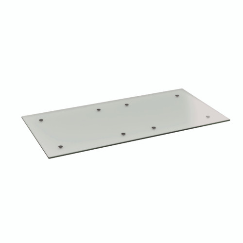 Frosted Glass Rectangle Table Top