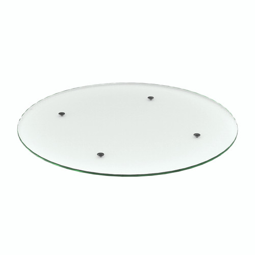 Clear Glass Round Table Top