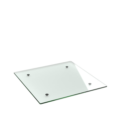 Clear Glass Square Table Top