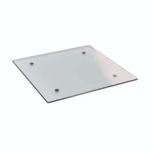 Frosted Glass Square Table Top