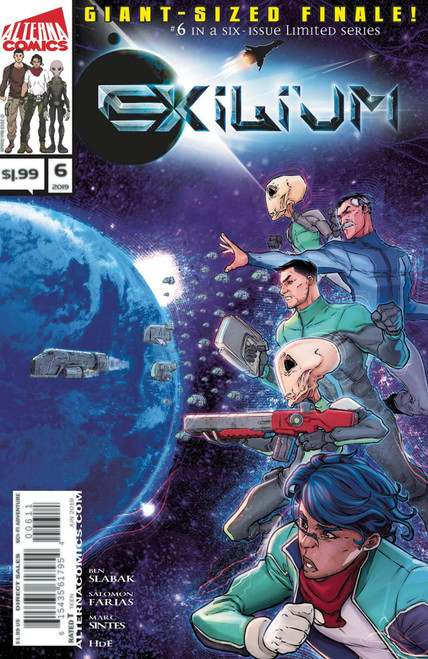 Exilium #6 () Alterna Comics Comic Book