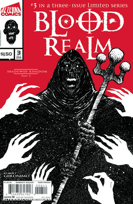 Blood Realm Vol 2 #3 Alterna Comics Comic Book