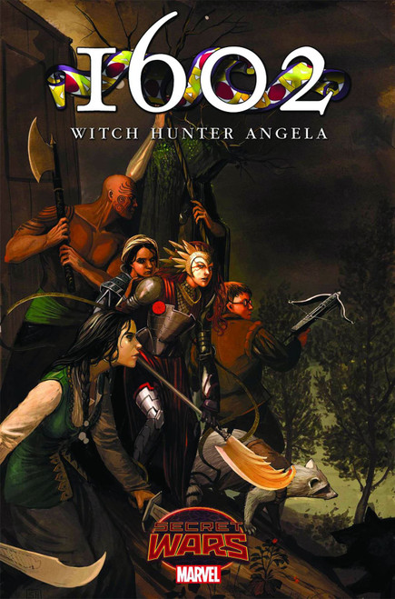 1602 Witch Hunter Angela #2 Marvel Comics Comic Book