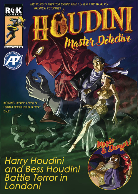 Houdini Master Detective #1 One Shot Antarctic Press Comic Book